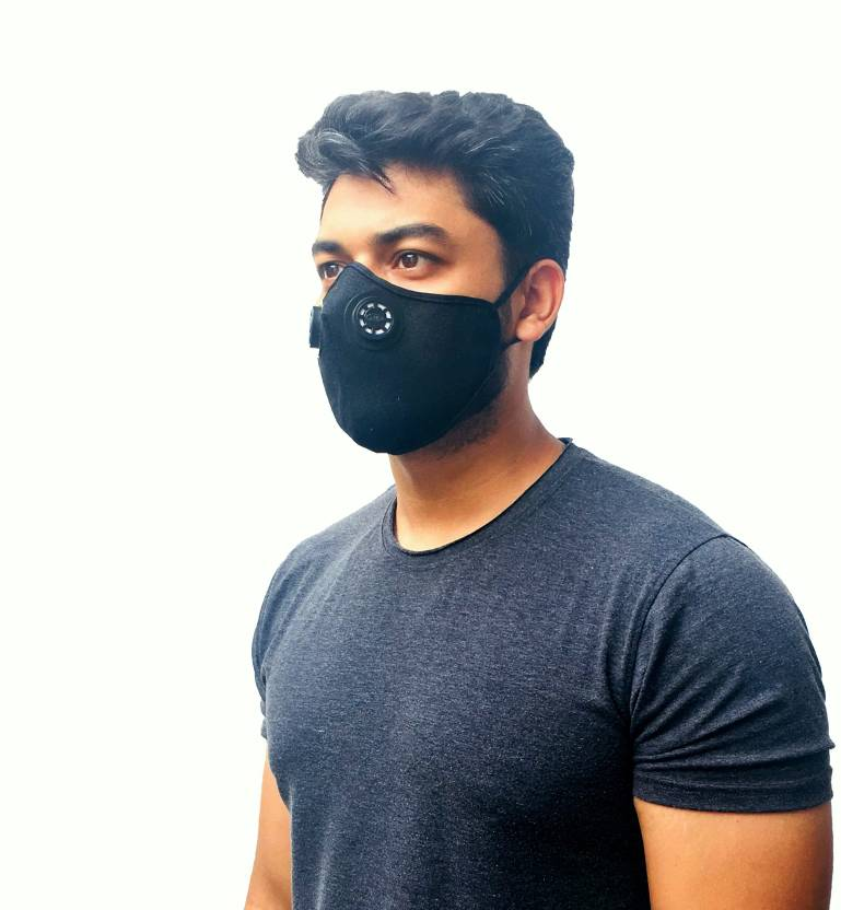 For Men Washable Straps Pollution Made With A Respirator Women Twp Adjustable Mask Dust And Military Anti Air Smoke Grade