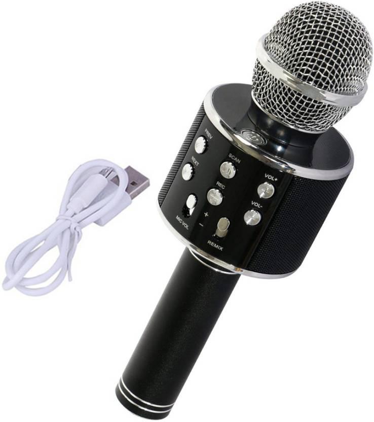 Piqancy Wireless Bluetooth Microphone WS858 Karaoke