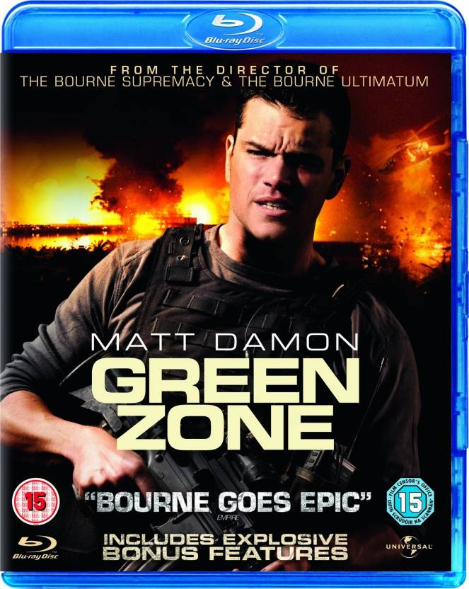 Green Zone Blu Ray Region Free Price In India Buy Green Zone Blu