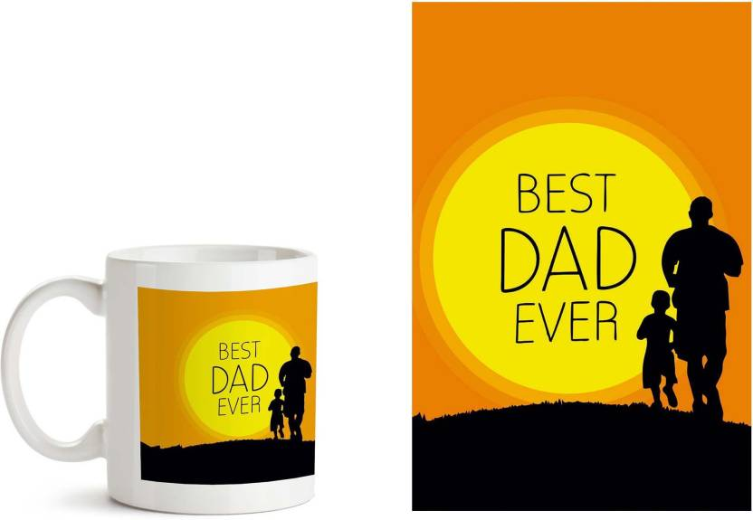 MotivateBox India 1 And Poster Combo With Best Dad Ever