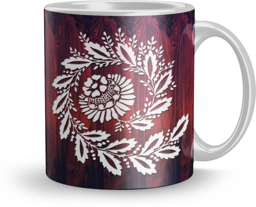 Dreamlivproducts Exclusive 320ml Ceramic Printed Mug Gift