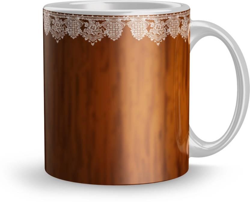 Dreamlivproducts Fine 320ml Ceramic Printed mug Gift For teen boys Gift For  elder sister Coffee mugs for gift(Mug 134) Ceramic Mug (320 ml)