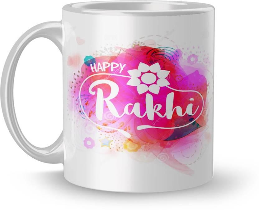 Dreamlivproducts Rakhi Gift Mug Rakshabandhan For Brother Sister Birthday