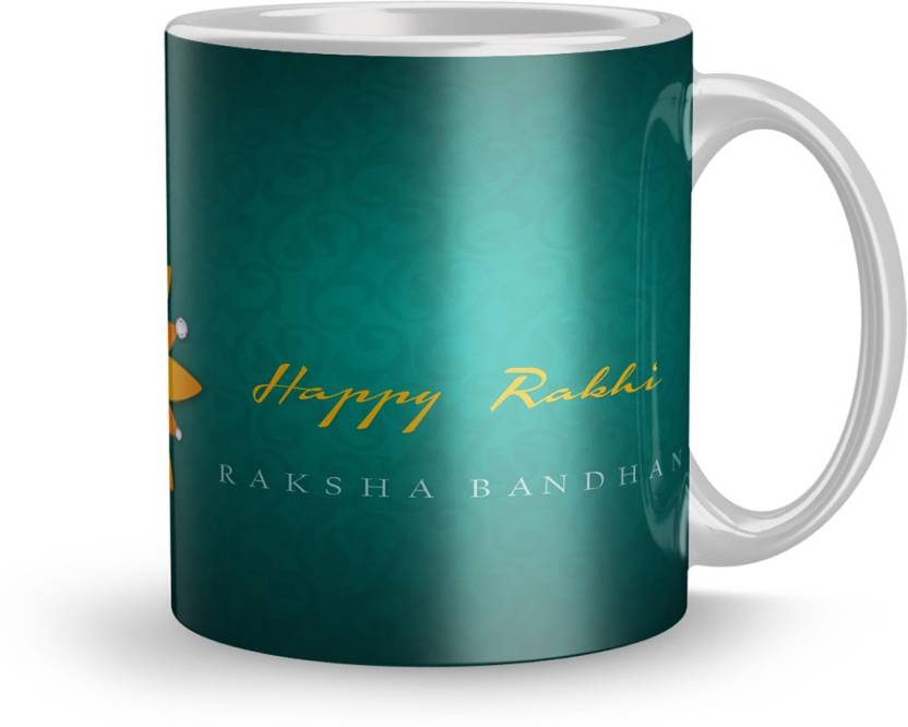 Dreamlivproducts Rakhi Gift Mug Rakshabandhan For Brother Sister Birthday