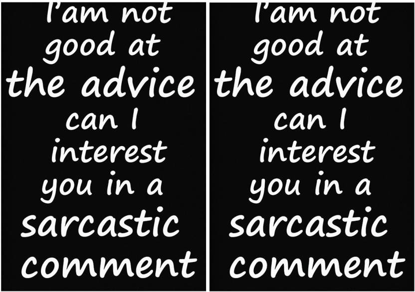 Combo Posters Set Of 2 Quotessignssymbols Combo Posters I Am Not