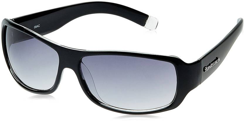 7abb459e2a Buy Fastrack Wrap-around Sunglasses Blue