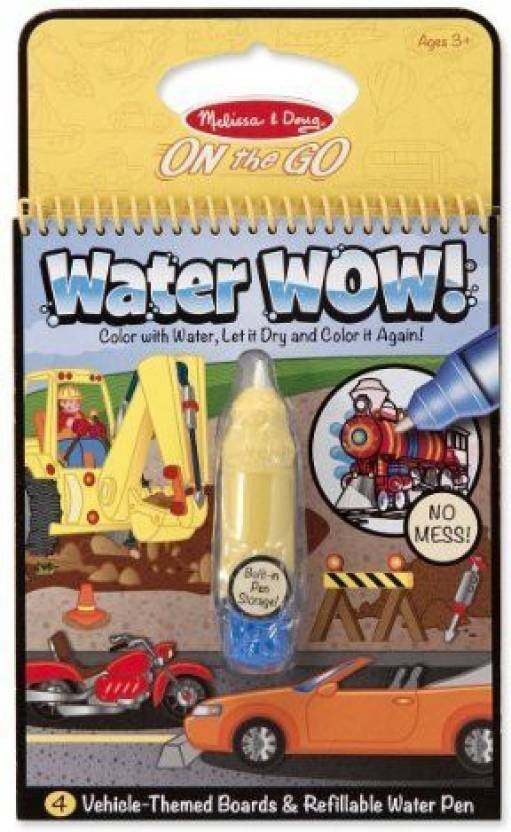 Melissa & Doug Water Wow Coloring Book - (Fairy Tale-Animals ...