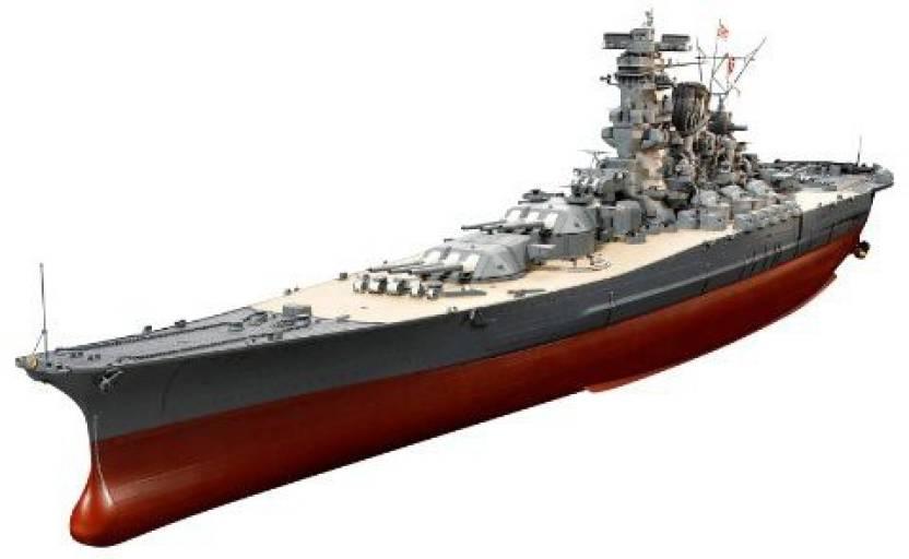 Tamiya Models Japanese Battleship Yamato Model Kit - Japanese