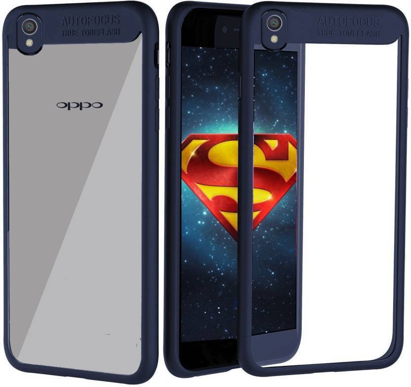 hot sale online 05564 056a0 TRADUSS Back Cover for OPPO A37f, Oppo A37 (Blue, Transparent ...