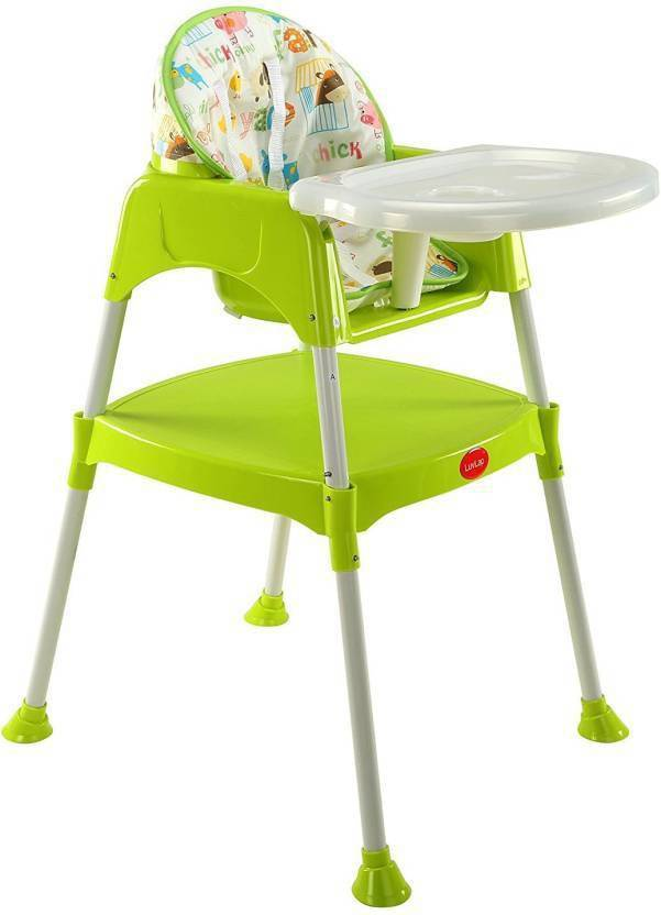 Kidoyzz Kids 3 In 1 Convertible Baby High Chair With Cushion Buy