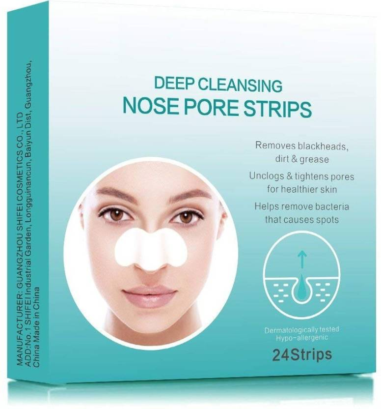 AGE CARE 24 strips of deep cleaning nose pore strips