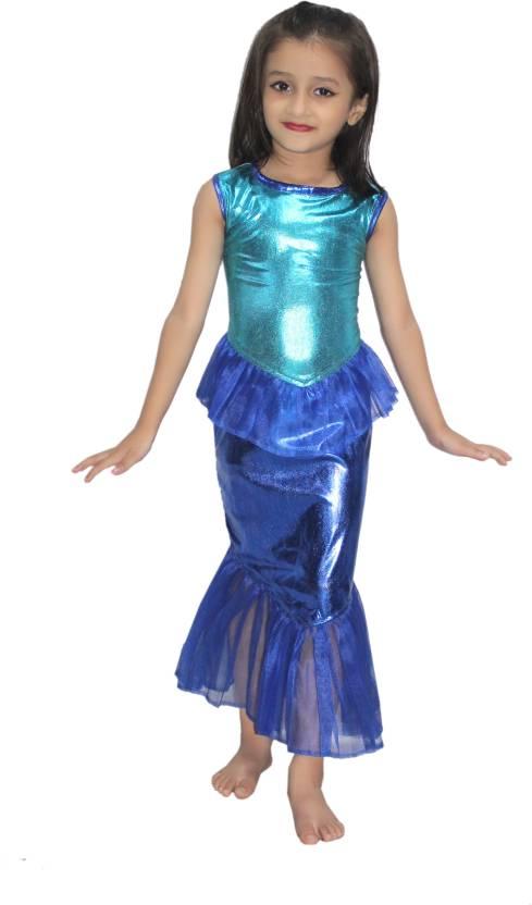 Kaku Fancy Dresses Mermaid Fancy Dress In Firozi Color Kids Costume Wear  Price in India - Buy Kaku Fancy Dresses Mermaid Fancy Dress In Firozi Color  Kids ... 54f22d2dd