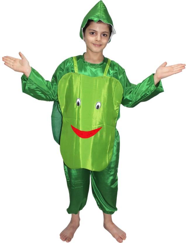 377e20d4acf2 Kaku Fancy Dresses Smily Capsicum fancy dress for kids,Vegetables Costume  for Annual function/