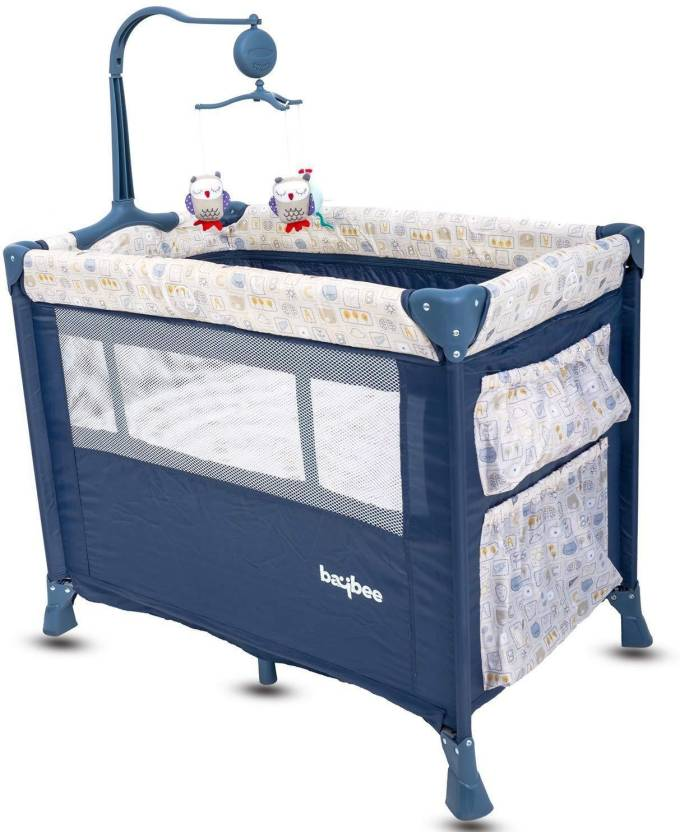 d9ef47771 Baybee Zeus Baby Play Pen Premium Quality Portable Travel Cot Baby ...