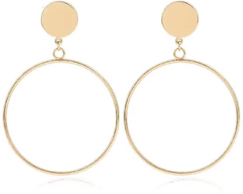 1048f7aa03667 Flipkart.com - Buy Cloe Valentine Minimalist Geometry Big Circle ...