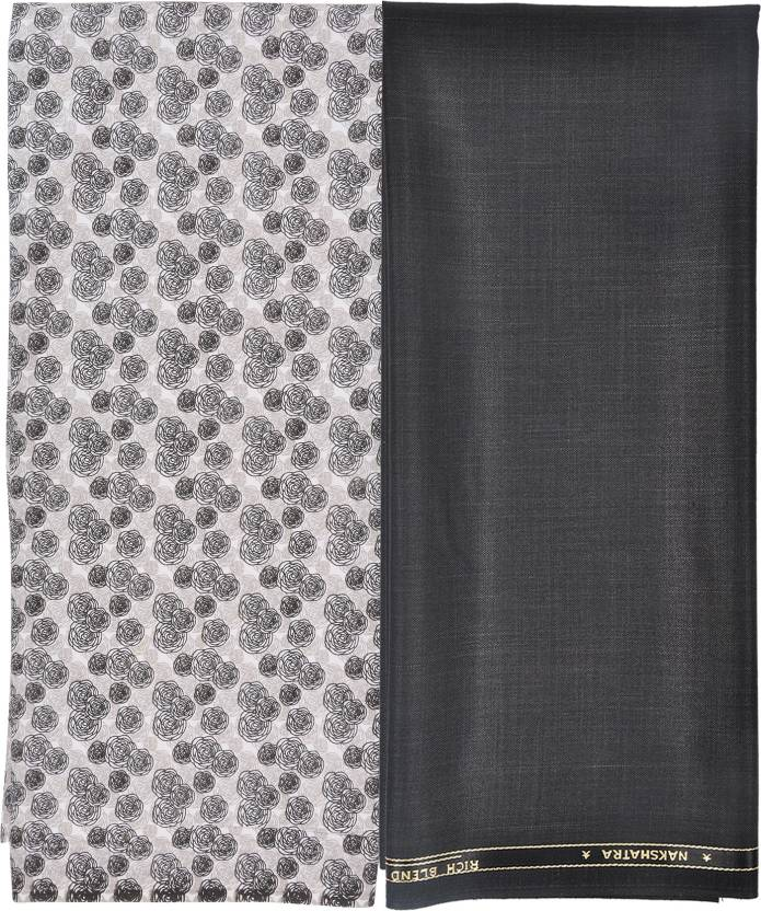 Gwalior Cotton Polyester Blend Printed Shirt Trouser Fabric Price