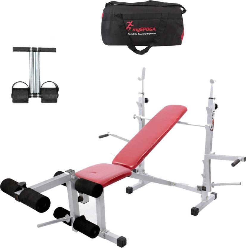 Lifeline Multi Gym Bench 308   Bundles With Gym Bag and Tummy Trimmer Home  Gym Combo 46f346c18b