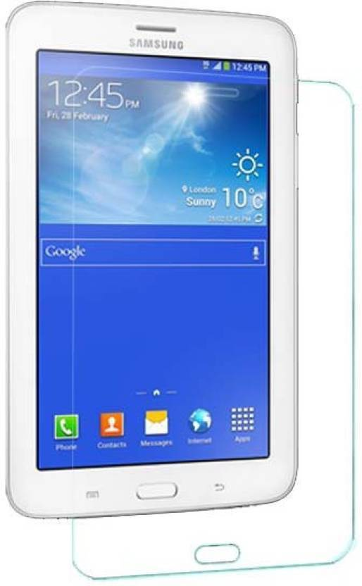 S Softline Tempered Glass Guard for Samsung Tab 3 Neo T111