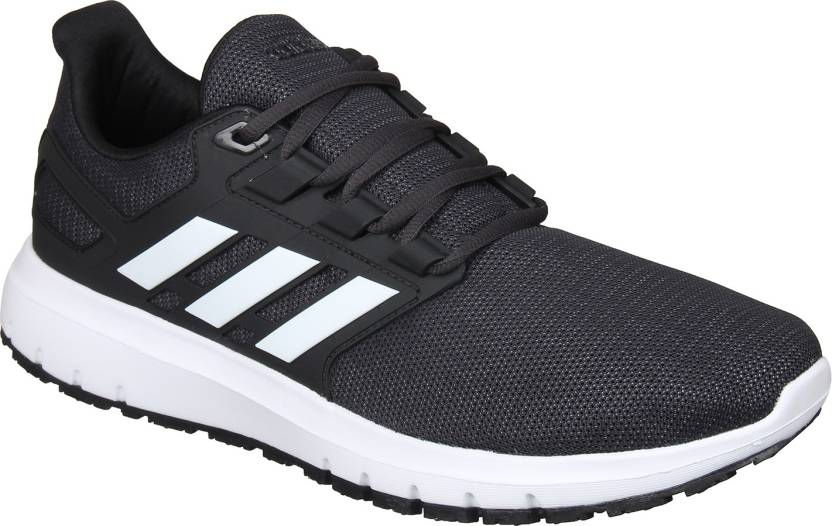 online store 29960 f5f84 ADIDAS Energy Cloud 2 Running Shoes For Men (Black)
