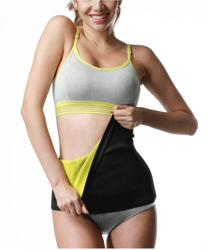 49052593ddada Heirloom Quality Unisex Hot Thermo Sweat Neoprene Shapers Slimming Tummy  Trimmer Exercise Belt for Men   Women - XL Slimming Belt (Black)