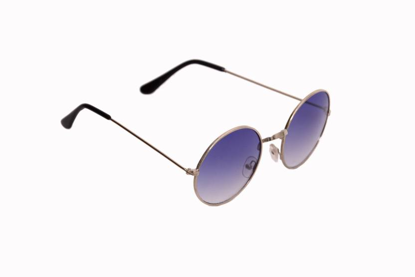 cf0c07ab596 Buy hipe Round Sunglasses Blue For Men   Women Online   Best Prices ...