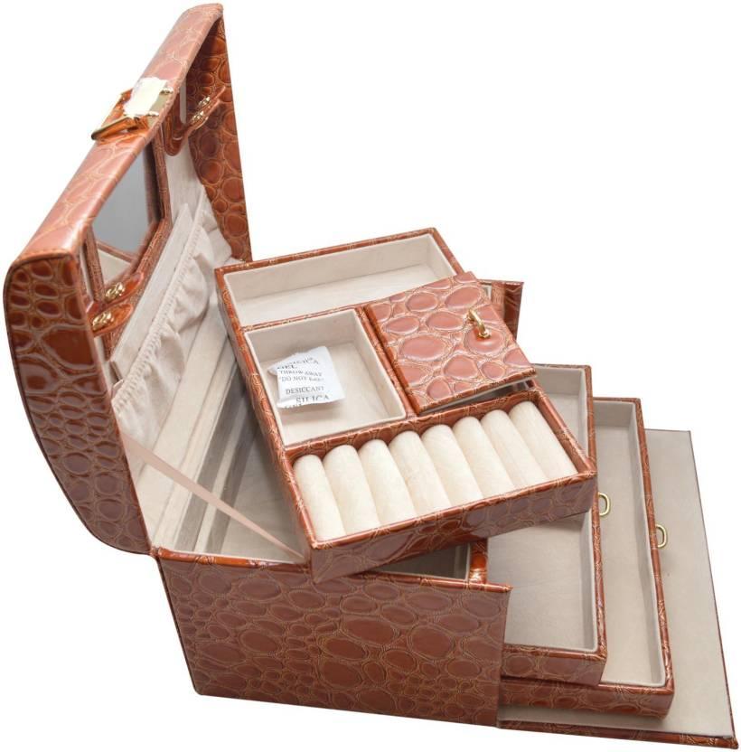 9a887cf9c09 Knott Utility box Jewellery Vanity Box Price in India - Buy Knott ...