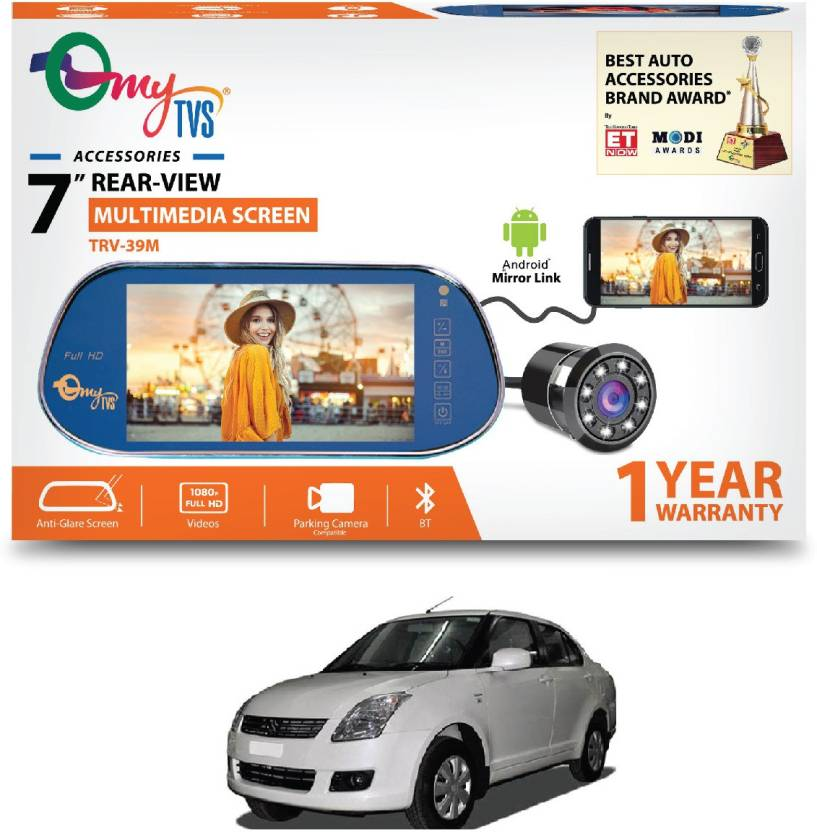 f7db02f7039 myTVS 7 inches Car Rear View Full HD Screen with MP3/MP5/USB Player ...