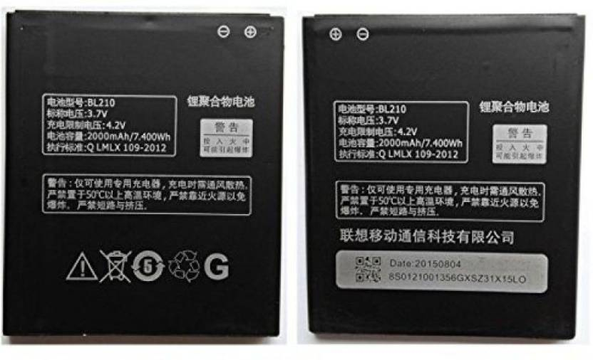 Gohaps Mobile Battery For BL210 LENOVO S820 S650 A656 A658T A766 A770 in 2000
