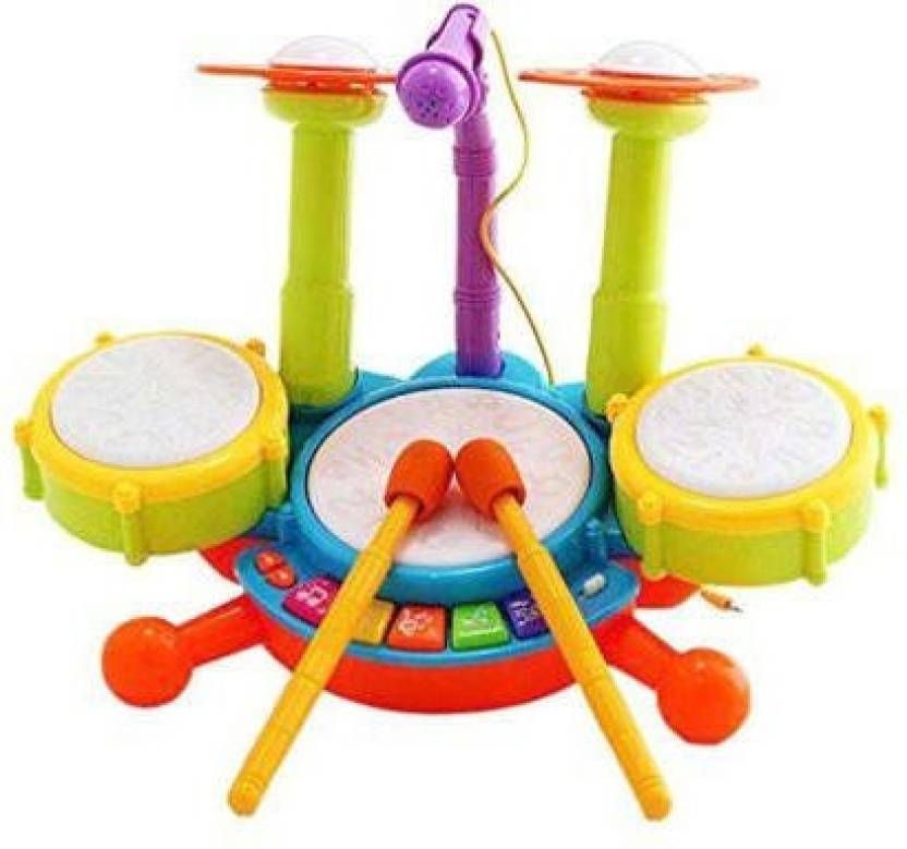 Yamama Kids Drum Set Drum Set For Kids Electric Toys Toddler