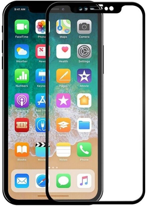 Tiger MAX Edge To Edge Tempered Glass for Apple iPhone X (5D, 9H)