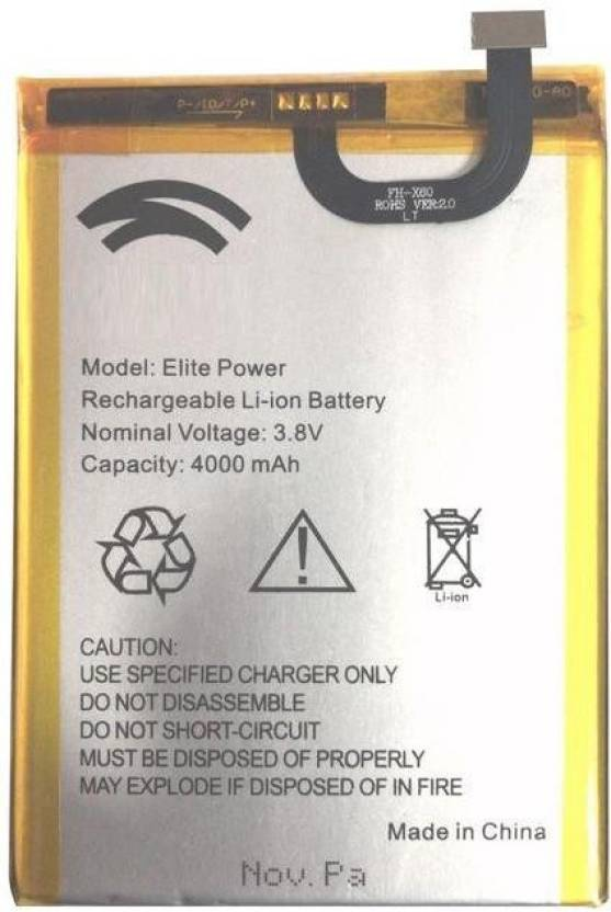MUSKAANSALES Mobile Battery For Swipe Elite Power Price in