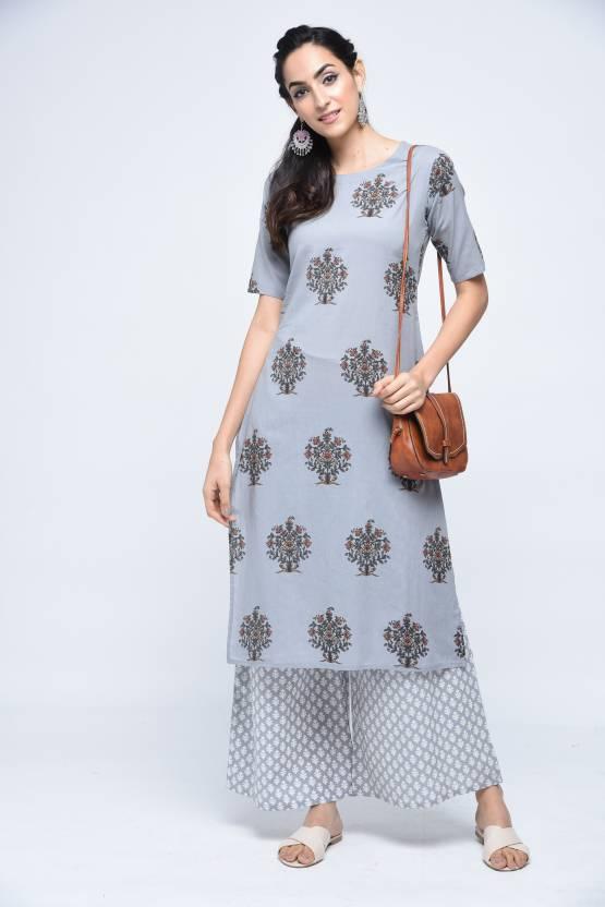3b79599ef9f Stylum Women Kurta and Palazzo Set - Buy Stylum Women Kurta and Palazzo Set  Online at Best Prices in India