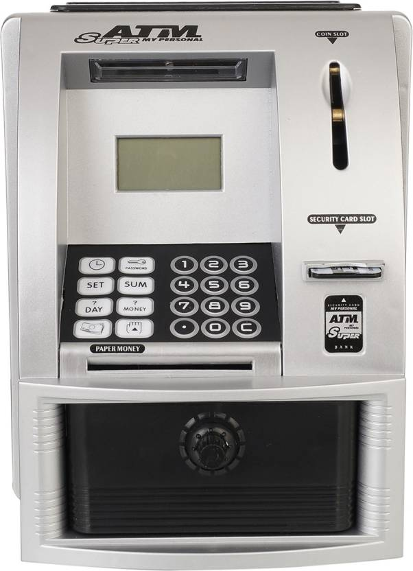 Aarushi ATM Machine with Digital Screen and Money Bank
