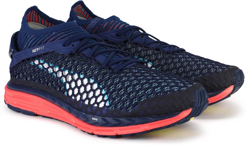 88fbb29b696 Puma Speed IGNITE NETFIT Running Shoes For Men - Buy Blue Depths ...