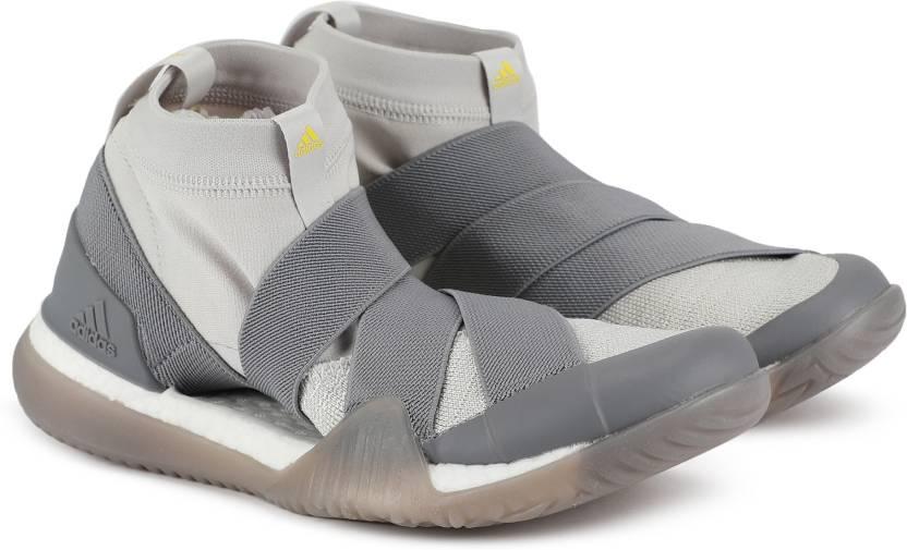 37d9e7a4ca875 ADIDAS PUREBOOST X TRAINER 3.0 LL Training   Gym Shoes For Women (Grey)