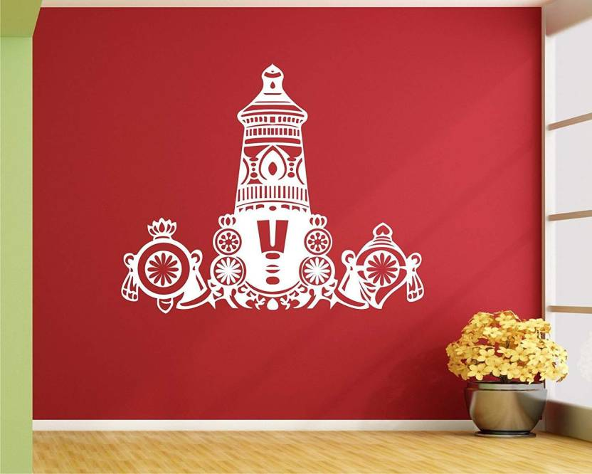 marvellous Large God Balaji wall decal/ Balaji wall sticker Sticker (Pack of 1)