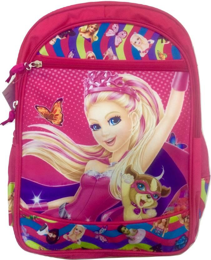 Fashion Knockout Disney princess School bag for girls ( pink ) 17