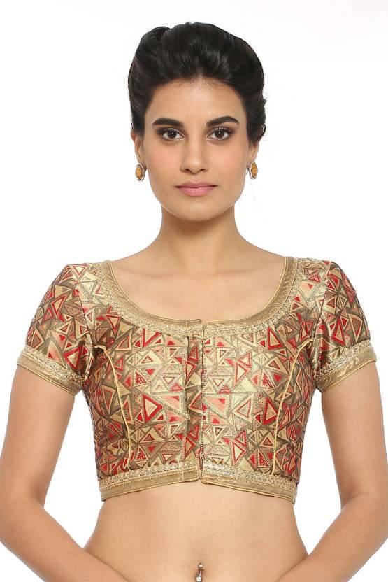 212f7a903f95af Soch Round Neck Women Stitched Blouse - Buy Soch Round Neck Women Stitched Blouse  Online at Best Prices in India