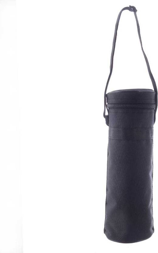 18355a14e0 VIHAAN WATER BOTTLE COVER 1 LITRE ROUND ZIPPER(BLACK) (Black). Be the first  to Review this product