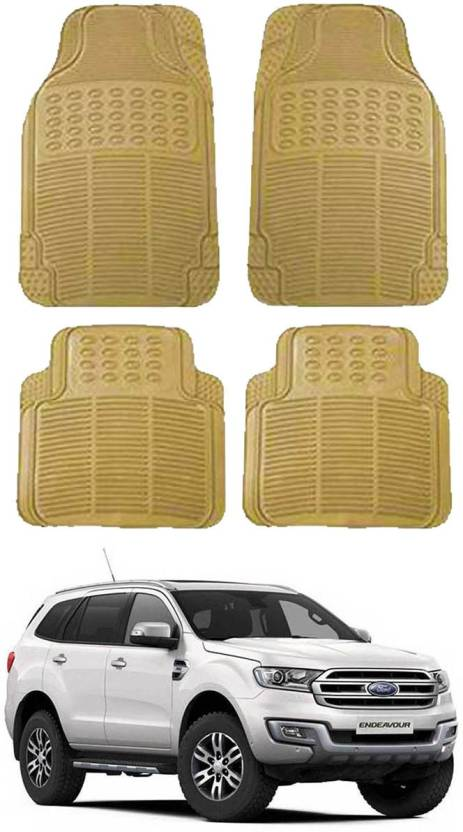 Shoolin Rubber Standard Mat For Ford Endeavour Price in