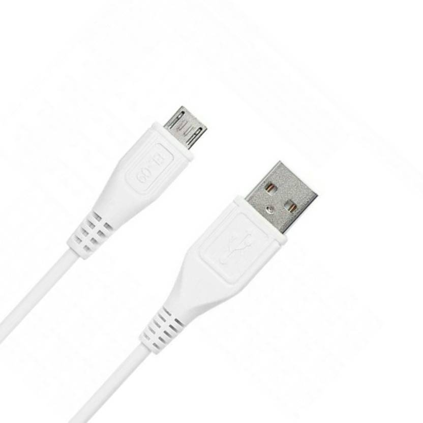 9fb8cbf7e11 Lubdub 100% ORIGINAL For All Android Mobile Phone High Speed,Quick Charge  2.4 Amp & Data Sync. USB Charging Cable Sync & Charge Cable (White)