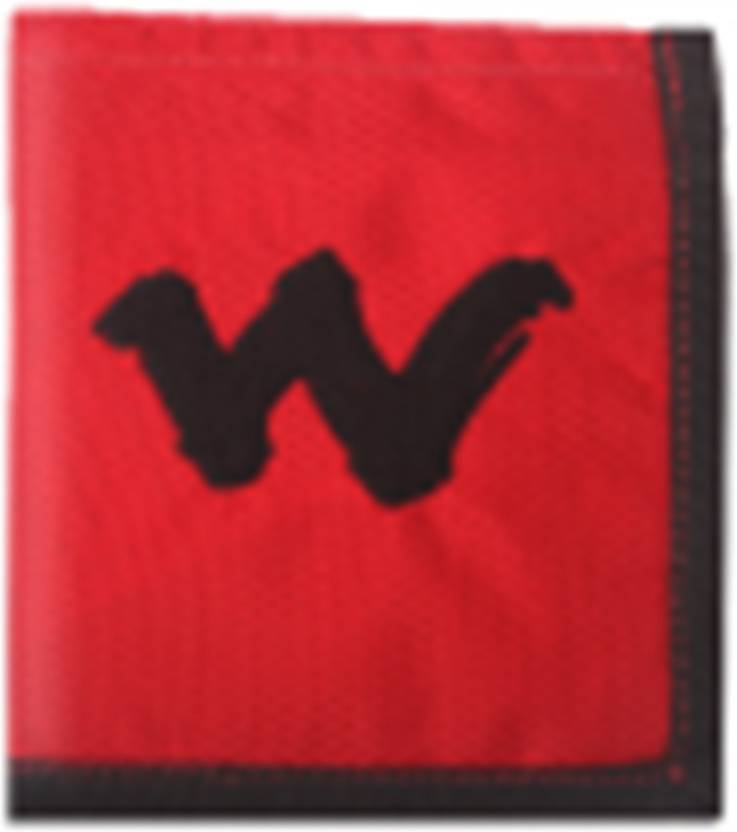 Wiki Boys Red Canvas Wallet Red Price In India Flipkart Com