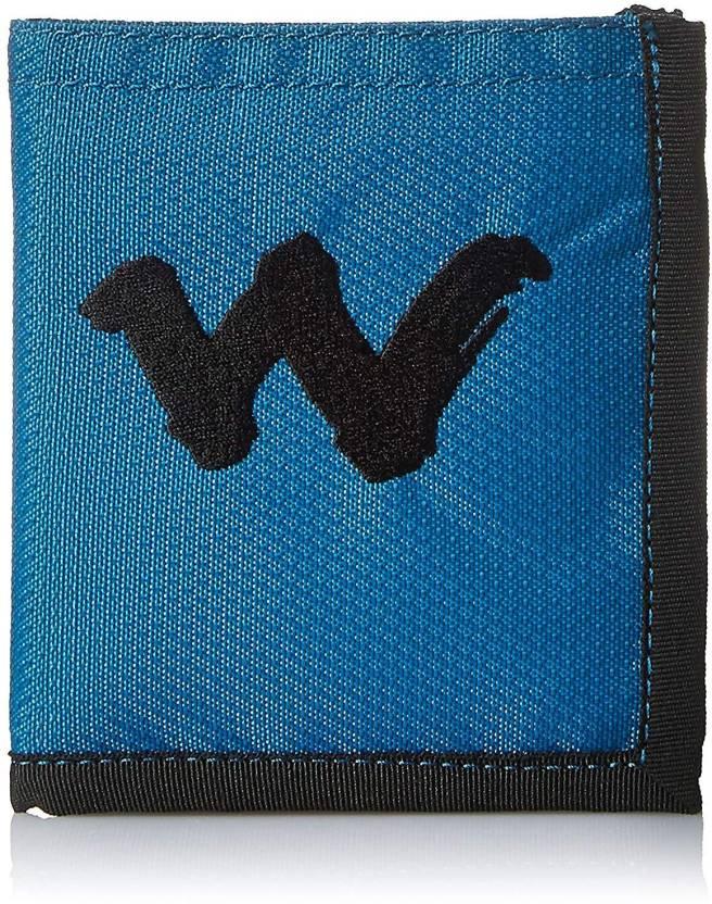 Wiki Boys Blue Canvas Wallet Blue Price In India Flipkart Com