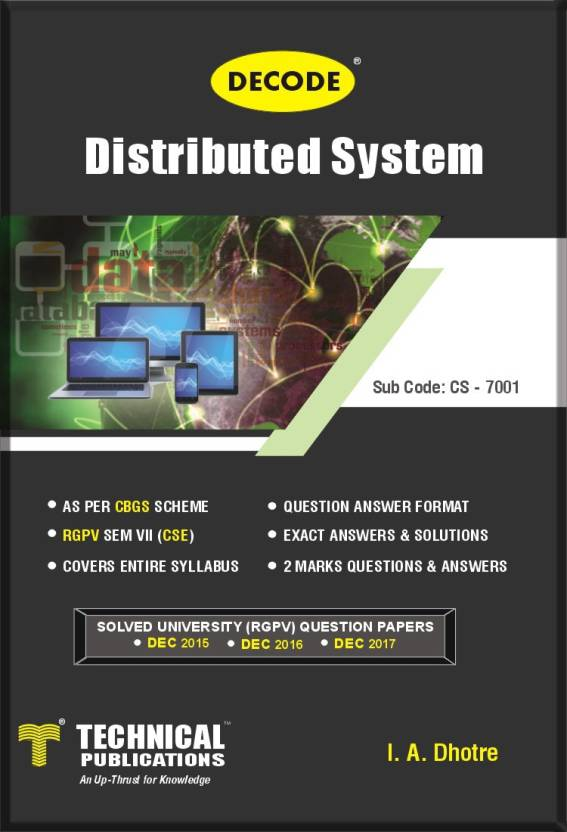 DECODE- Distributed System for RGPV (SEM-VII CSE COURSE-2018): Buy