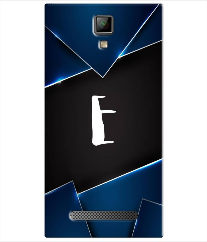 on sale 27740 32b04 Pinaaki Back Cover for Micromax Canvas Xpress 4G Q413 - Alphabet E ...