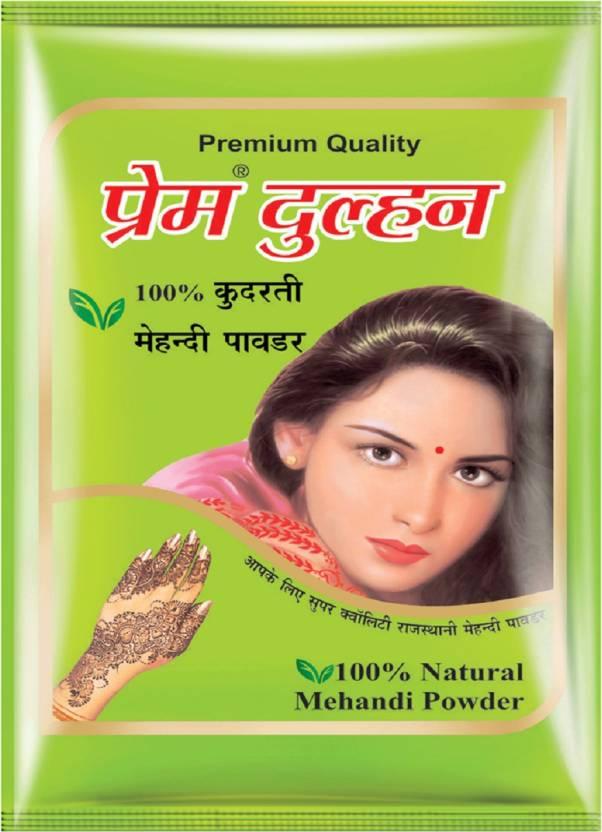dd50be1f4 Prem Dulhan 100% Natural Mehandi Powder - Price in India, Buy Prem ...