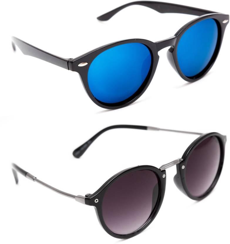 4977442cead Buy TheWhoop Round Sunglasses Blue