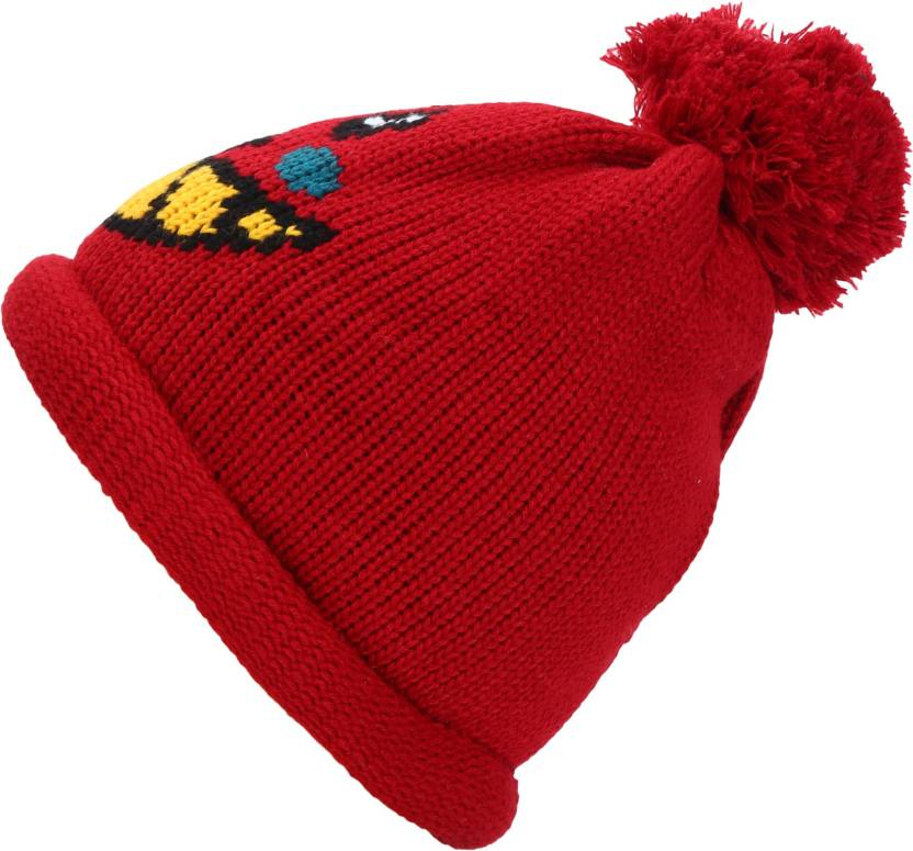 c7a4543eb Friendskart Self Design Fashion Winter Warm Beanie Caps Men Women ...