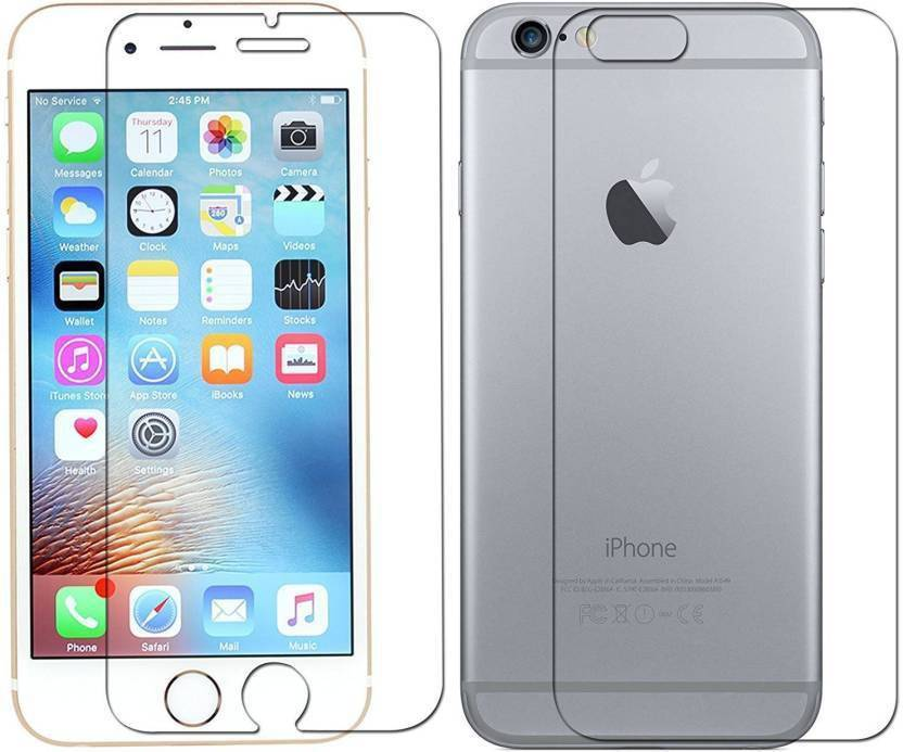 best service f35fd 8de74 SRT Front and Back Tempered Glass for Apple iPhone 6