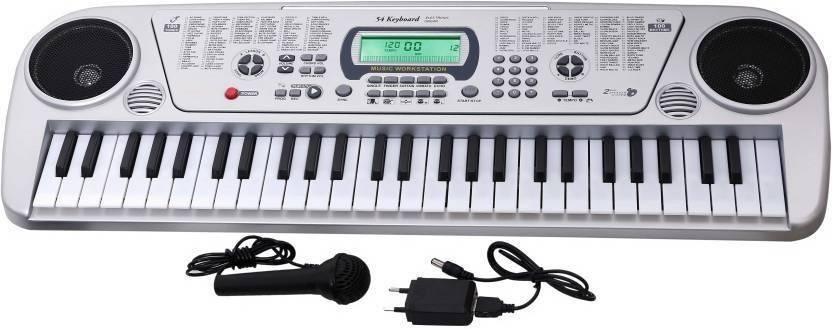Bluekart Online 54 Keys Musical Keyboard Piano With Microphone and